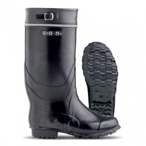 Firm and robust Kontio rubber boots